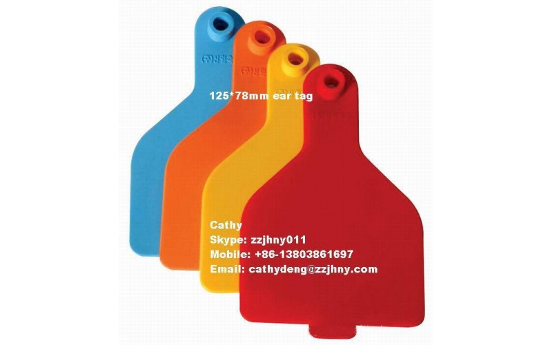 Animal tracking system China cattle plastic price tags